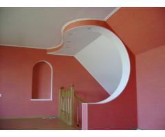 Гипсокартон, арки, перегородки, ремонт