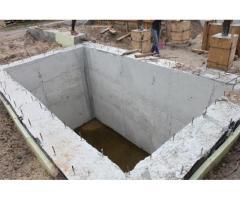 Монолитные погреба под ключ от производителя