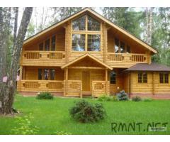 Материалы для деревянных домов.