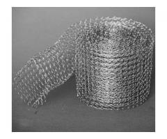 Продаю рукав сетчатый, сетка рукавная из нержавеющей стали.