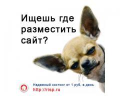Risp.ru - Надежный хостинг от 1 руб