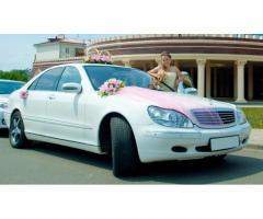Белый Mercedes на прокат