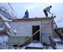 вывоз мусора, демонтаж строений, земляные работы
