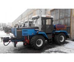 Мотовоз (локомобиль) маневровый ММТ-2 на базе трактора ХТЗ-150К