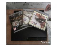 PS3 Slim 160Gb + 12 игр