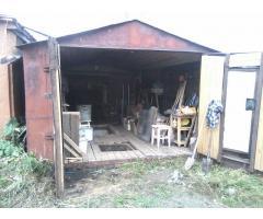 Продаю гараж металлический с погребом