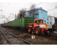 Мотовоз (локомобиль) маневровый ММТ-2 на базе трактора ХТА-200