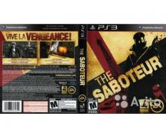 Saboteur playstation 3