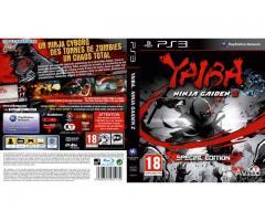 Yaiba ninja gaiden z playstation 3