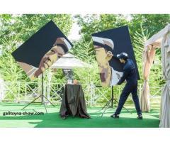 Танцующий художник - составные картины  в Орле