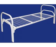 Двухъярусные железные кровати, для казарм, дёшево.