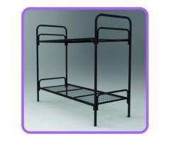 Железные кровати для казарм, кровати для рабочих, металлические кровати для вагончиков.