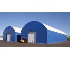 Тентовые конструкции - тентовые павильоны, тентовые ангары, временные склады