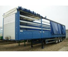 Установка сдвижных крыш на любые грузовики и прицепы