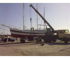 Продам парусно моторную яхту 12 метров. Евпатория. Крым.