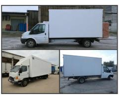 Изготовить и установить  фургон на ISUZU, HINO, Baw Fenix, Ford Tranzit, HYUNDAI, Toyota.
