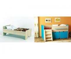 Детская кровать, двухъярусная кровать чердак