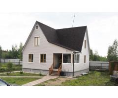 продам или посторю дом на 123 кв.м из клееного бруса