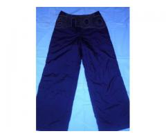 Продам тёмно-синие болоневые брюки на синтепоне