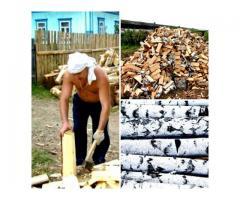 Дрова колотые березовые с доставкой в Челябинске