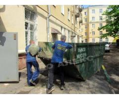 Вывоз строительного мусора. Мусоровоз, грузчики в Смоленске