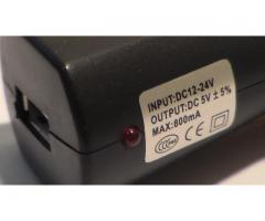 Автомобильное  зарядное USB устройство