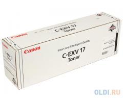 Тонер-картридж оригинальный Canon C-EXV17 GPR-21 Blak (черный)