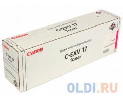 Тонер-картридж оригинальный Canon C-EXV17 GPR-21 Magenta (малиновый)