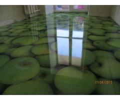 Наливные полимерные 3д полы,промышленные полы,шлифовка бетона