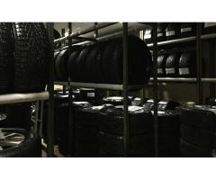 сезонное (6 месяцев) хранение авто шин и колес
