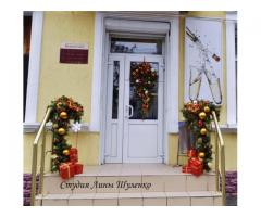 Украшение новогодних праздников и мероприятий.  Оформление интерьеров к Новому году в Крыму.
