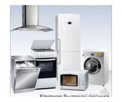 Подключение с  установкой  стиральных и посудомоечных машин,электроплит,духовых шкафов.