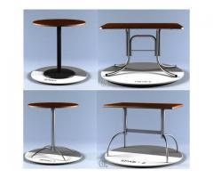 Столы, подстолья и столешницы для столов.