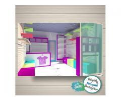 Дизайн магазина, островка, торгового оборудования. 3D моделирование. Визуализация.